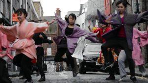 「阿国」(歌舞伎ダンサー)(2014) ロンドン、プレイスシアター *クリックすると動画が見れます。 Video by Mayuko Katagiri